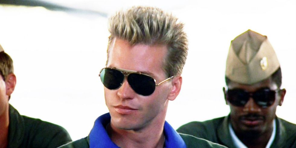 Image result for val kilmer and tom cruise top gun