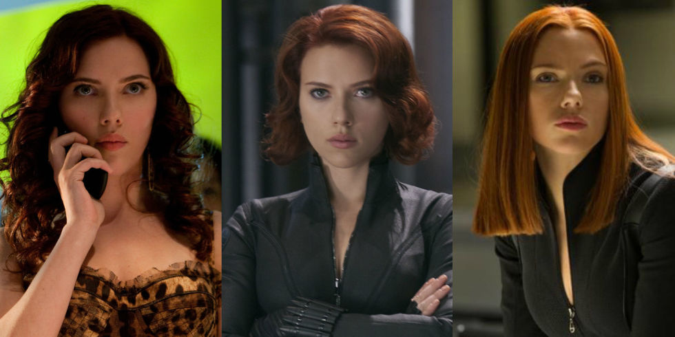 Why Does Scarlett Johanssons Black Widow Hairstyle Change In - Change hairstyle ragnarok