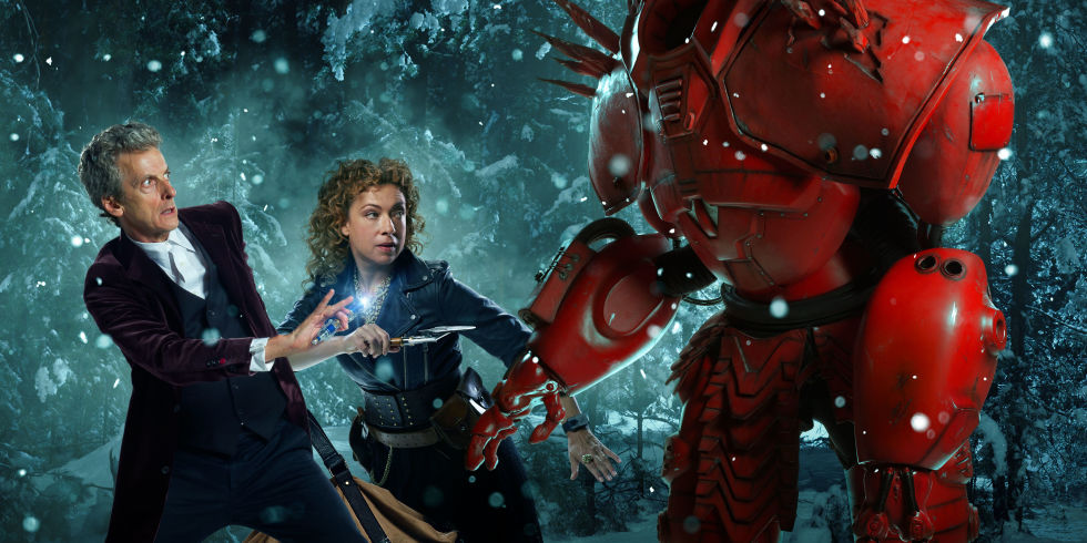 Doctor Who 2015 Christmas Special: Twitter reacts as River Song ...