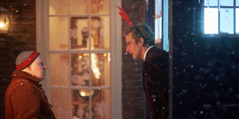 Doctor Who releases brand new images of the Christmas special - as ...