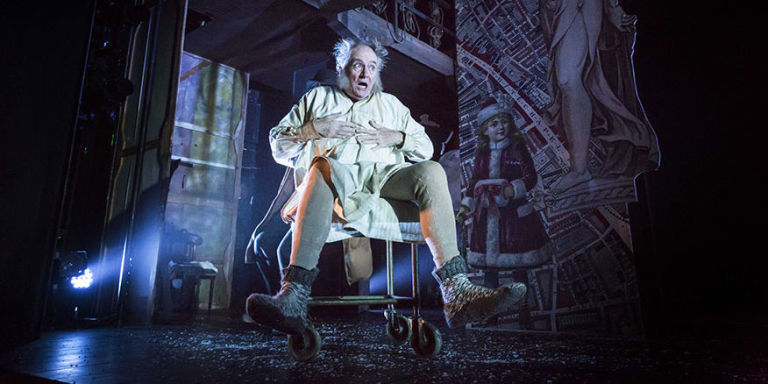 jim broadbent in a christmas carol the play