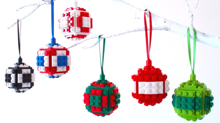 LEGO baubles