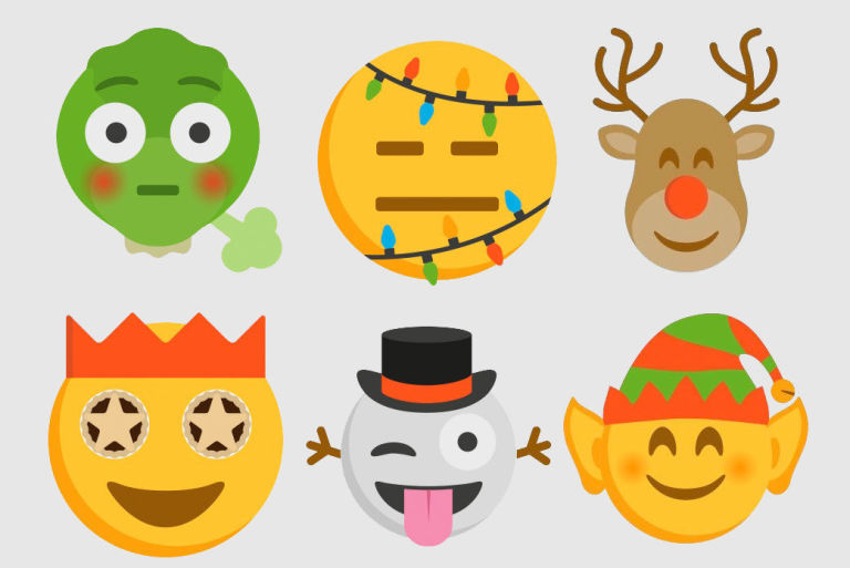 Facebook Christmas Emoji - Emoji World