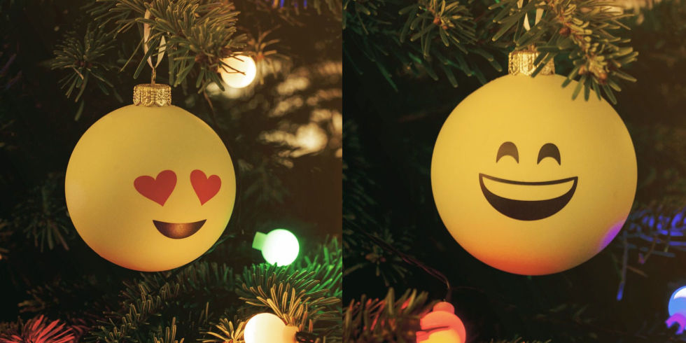 Emoji baubles are real and they're here to bring the social spirit ...