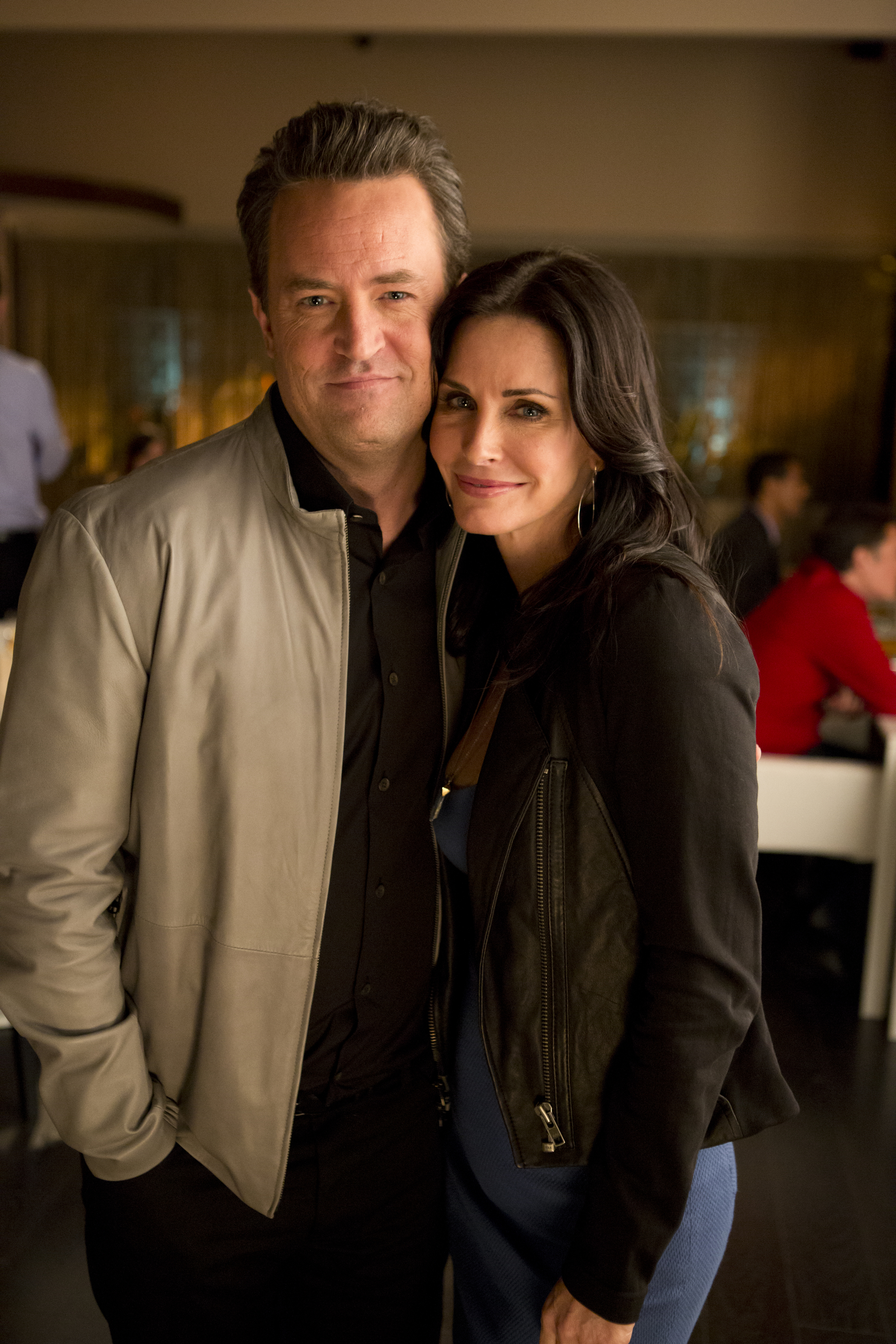 Friends reunion: Matthew Perry wants Courteney Cox on The ...