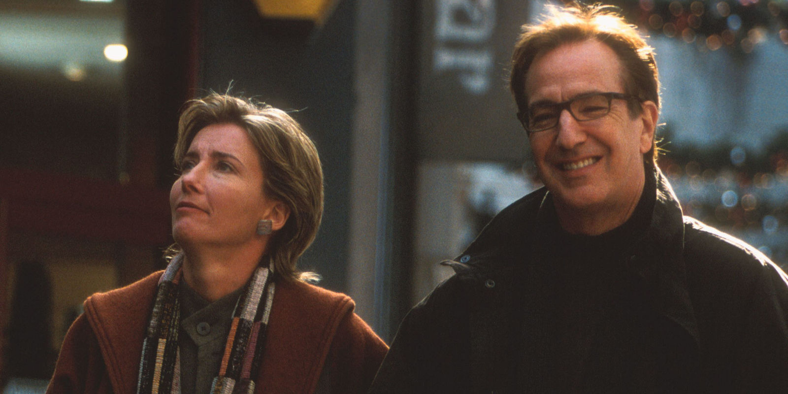 love actually writer emma freud reveals emma thompson and alan rickman 39 s characters did stay. Black Bedroom Furniture Sets. Home Design Ideas