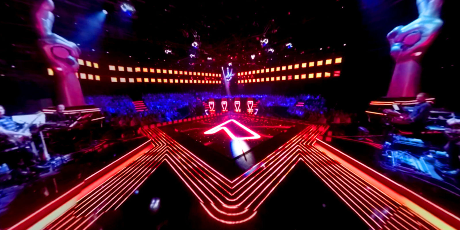 The voice uk will bring you up close with the judges and for Garden design tv show