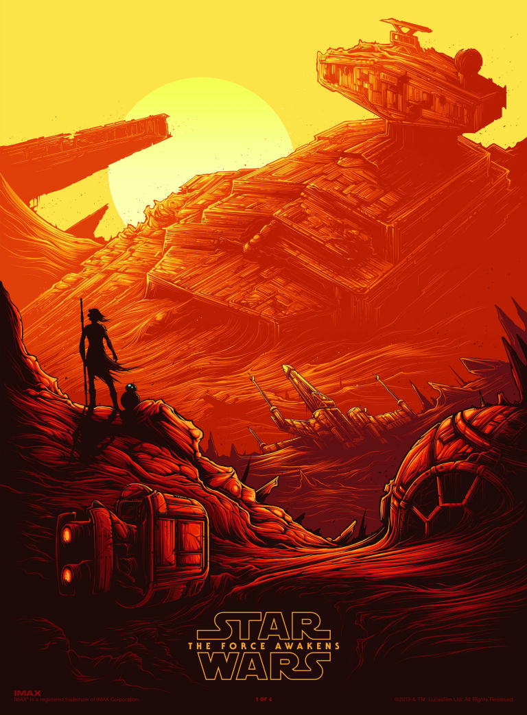 Get Your Hands On An Exclusive Star Wars IMAX Poster All The Details Here