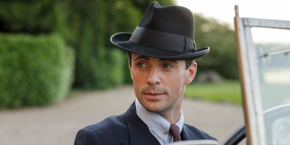 Matthew Goode in Downton Abbey Christmas 2015
