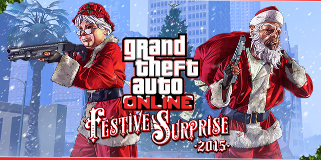GTA 5 gets all Christmassy with a free festive update on Xbox One ...