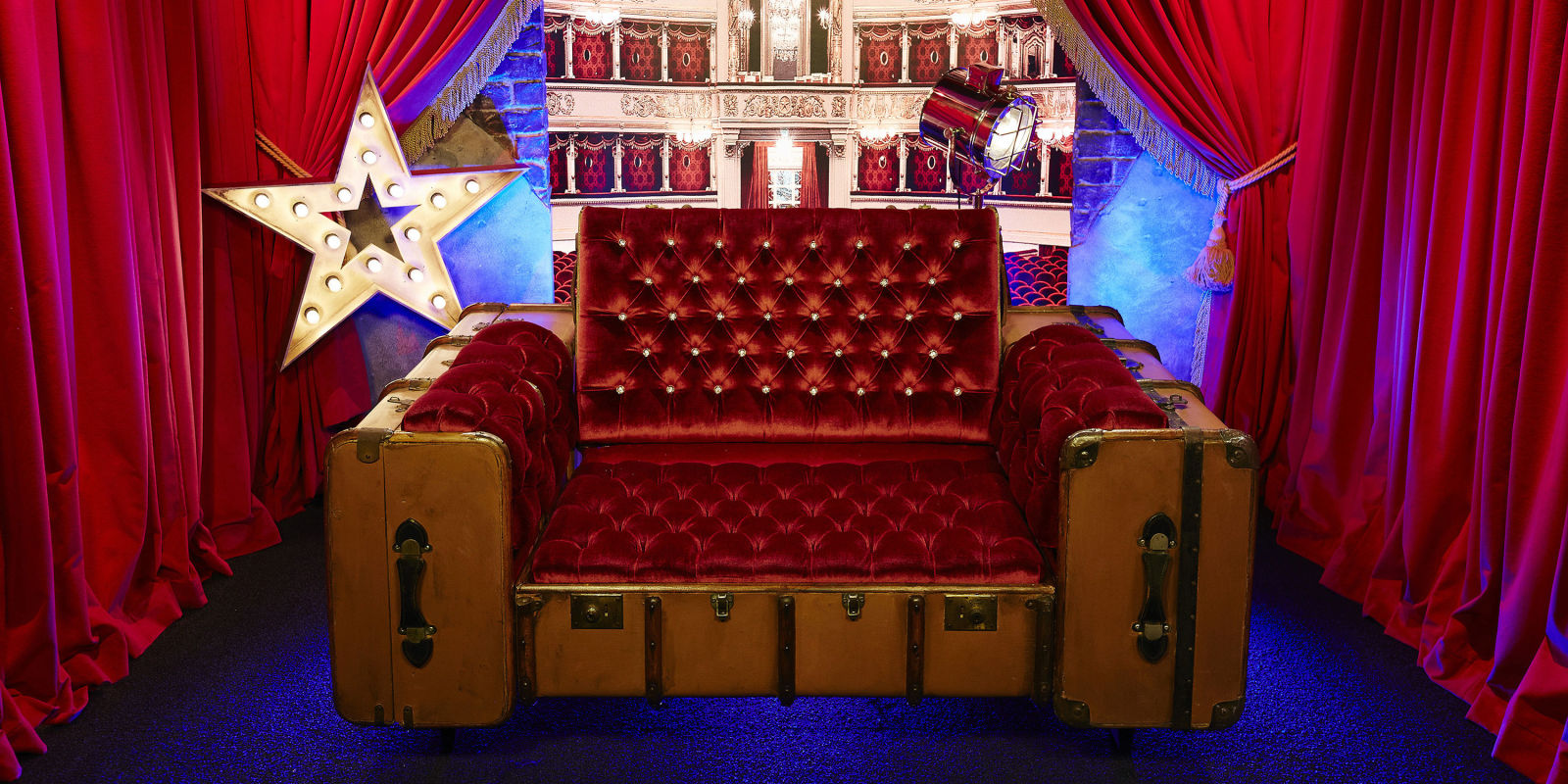 Celebrity Big Brother 2016 unveils first look at the plush new Diary Room chair & Celebrity Big Brother 2016 unveils first look at the plush new Diary ...