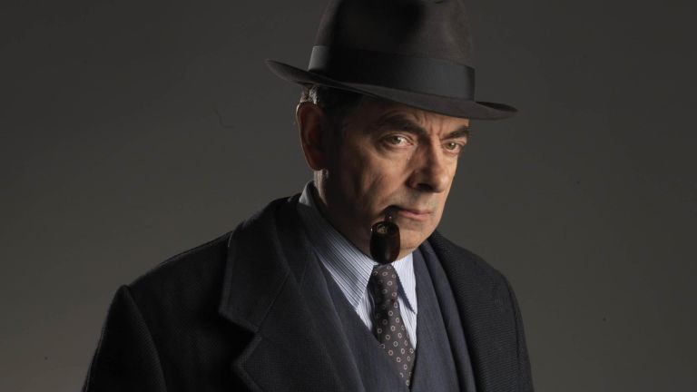 Jules Maigret See Rowan Atkinson in his new role as detective Jules Maigret as ITV