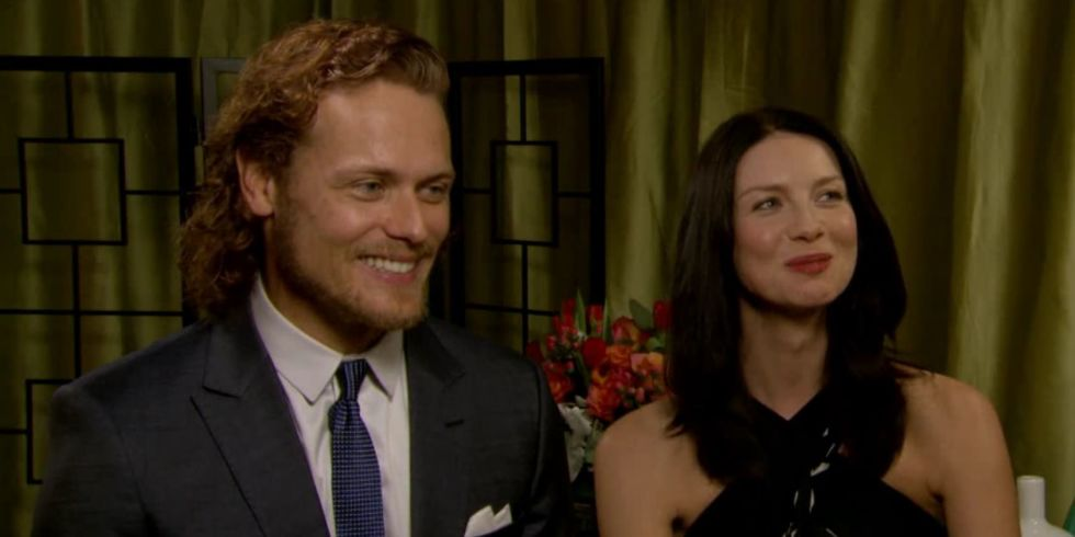 Are sam heughan and caitriona balfe dating images