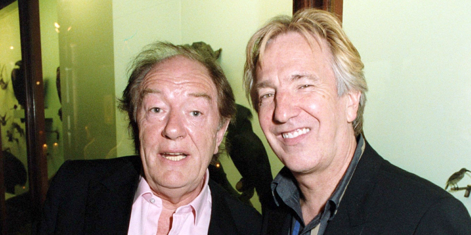 harry potter star michael gambon pays tribute to great