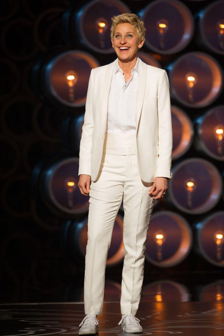 Ellen And Portia 2014 Oscars