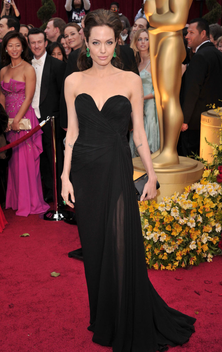 81st Annual Academy Awards Arrivals Los Angeles America 22 Feb 2009 Angelina Jolie