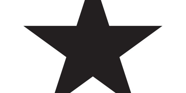 david bowie s blackstar cover is him facing his own mortality the rh digitalspy com black star clip art free star clipart black background