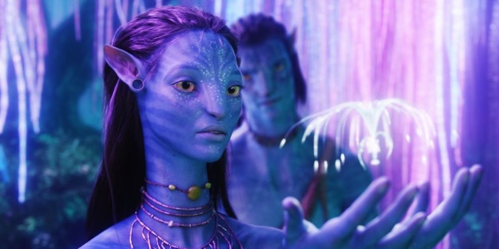 avatar release date plot cast and everything you need to know zoe saldana in avatar 2009