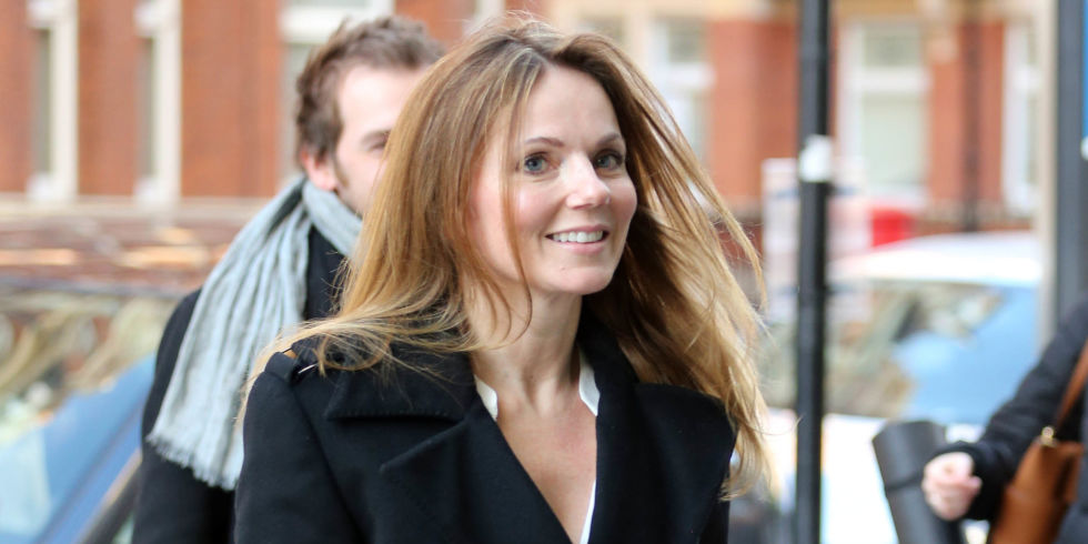 OMG, Geri Horner is actually on The X Factor tonight and we're too ...