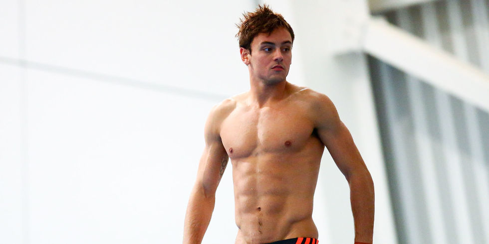 Tom Daley During A Practice Session On Day Three Of The National Diving Cup
