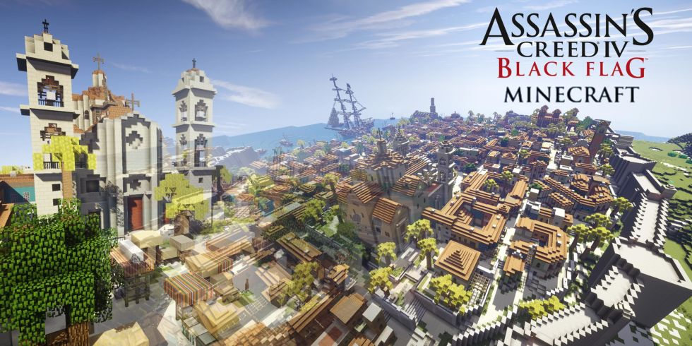 See assassins creed 4s havana recreated in minecraft gumiabroncs