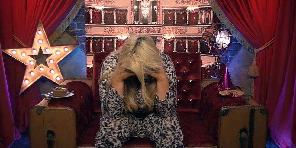Celebrity Big Brothers Gemma Cries On Her Birthday Im An Older