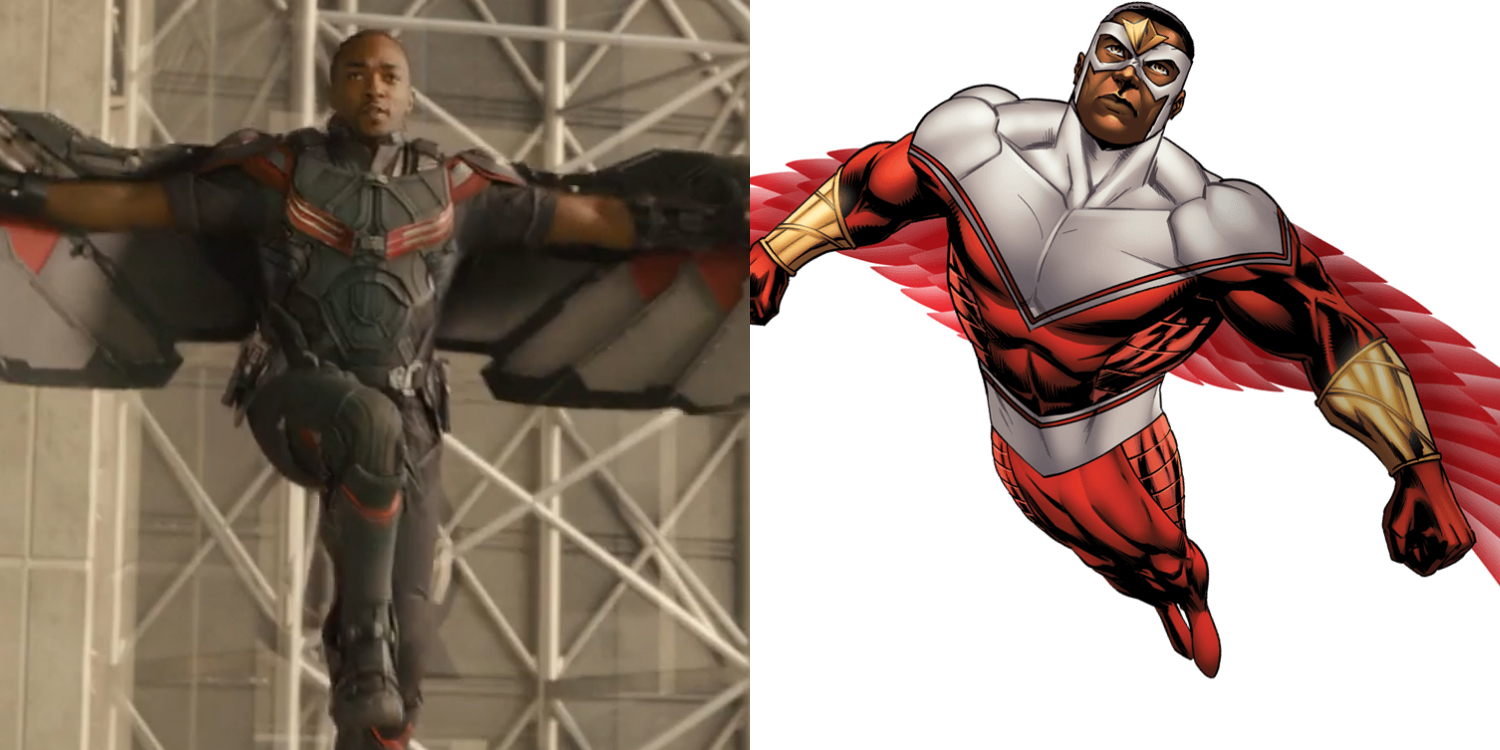 Learn How To Draw Falcon From Captain America Civil War: Captain America: Civil War Star Anthony Mackie Had An