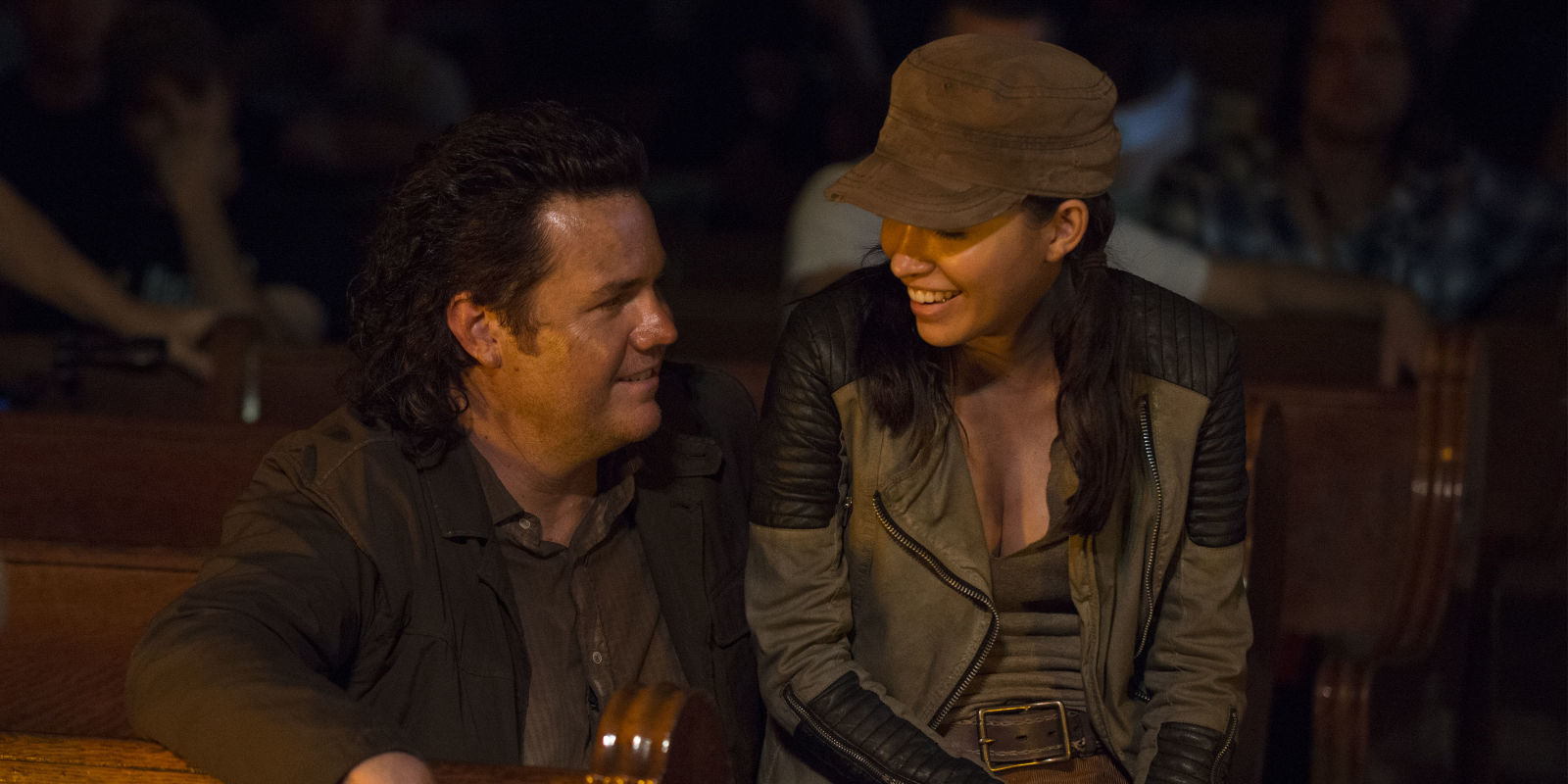 the walking dead will rosita and eugene get together in