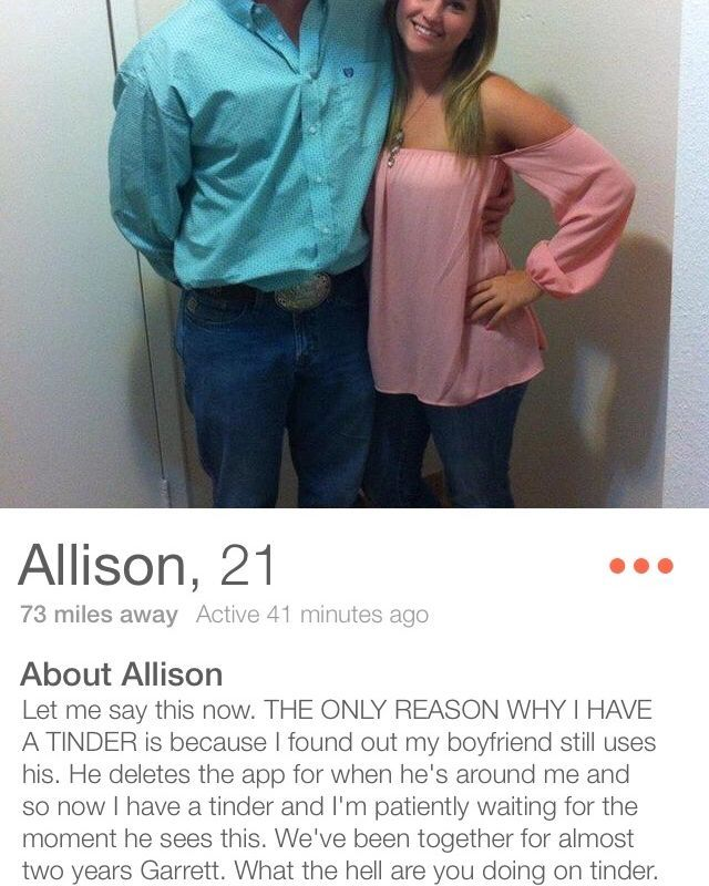 Tinder tips for guys
