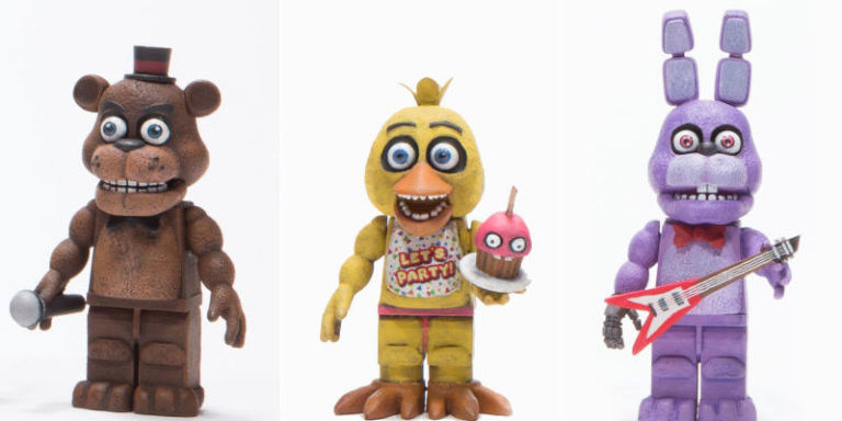 Lego 5 Nights At Freddy S Toys : These five nights at freddy s toys will give your kids