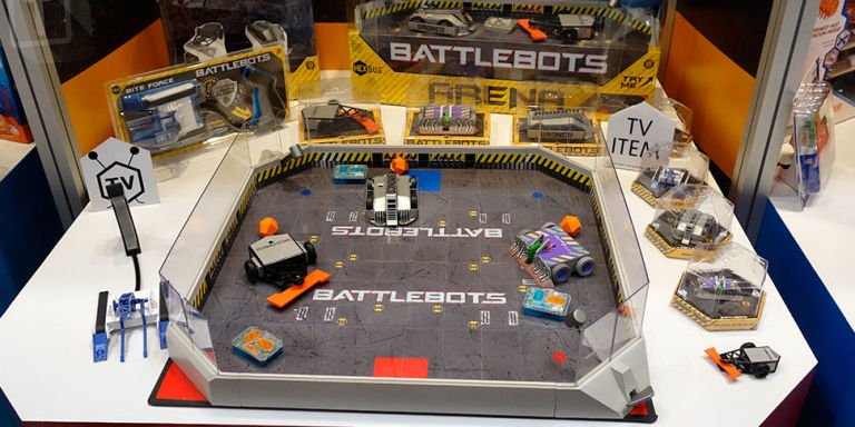 play robot wars at home with these remote controlled battlebots