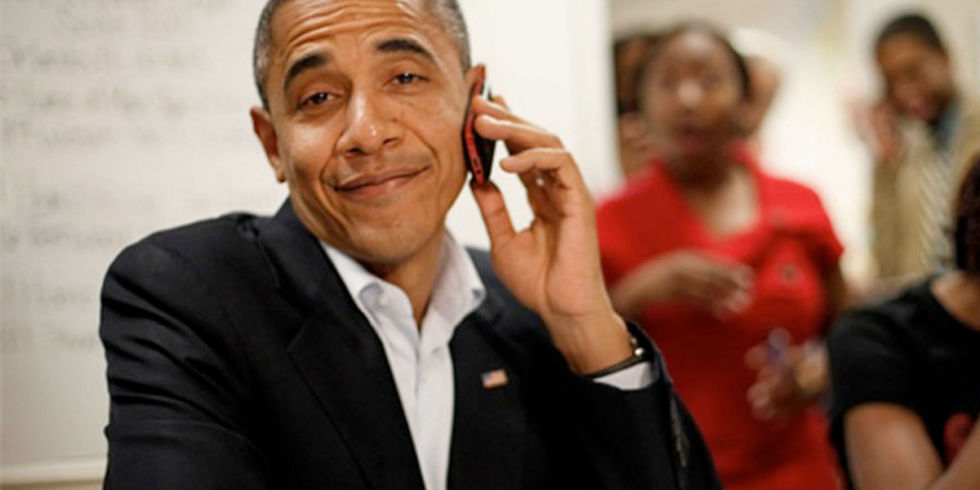 Obamas blackberry porn #1