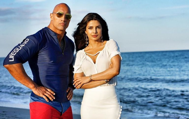 surf s up it s dwayne johnson to the rescue in baywatch s new super
