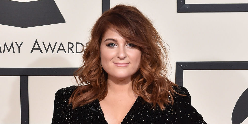 Meghan trainor considered ending fan meets after christina grimmie meghan trainor at the grammys 2016 m4hsunfo