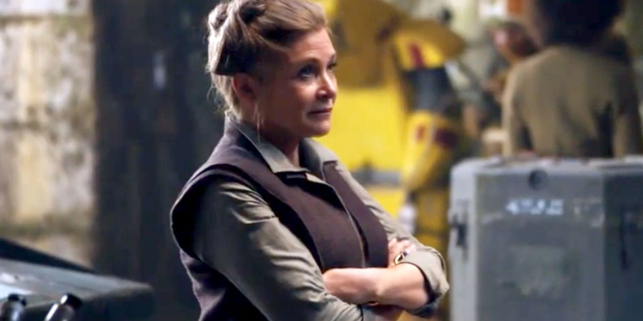 Carrie Fisher As Leia In Star Wars: The Force Awakens