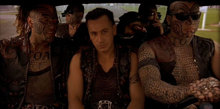 12 baddest ass tattoos in movies from george clooneys neck to tom once were warriors maxwellsz