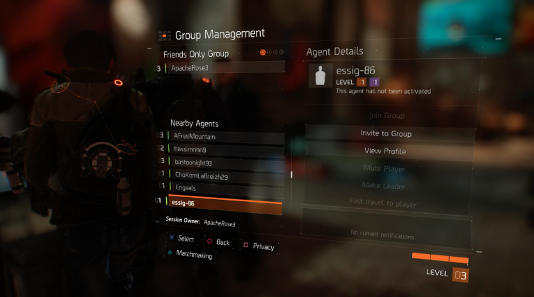The division matchmaking tutorial