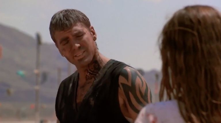12 baddest ass tattoos in movies from george clooneys neck to tom george clooney from dusk till dawn maxwellsz