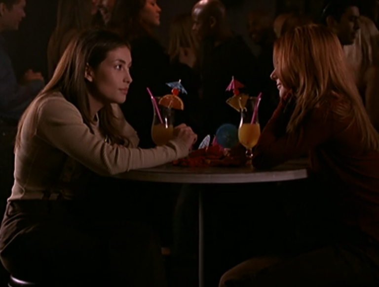 When does buffy and angel start hookup