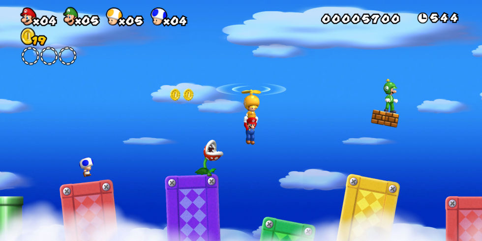 New super mario bros wii is out now on wii u new super mario bros wii screenshot gumiabroncs Image collections