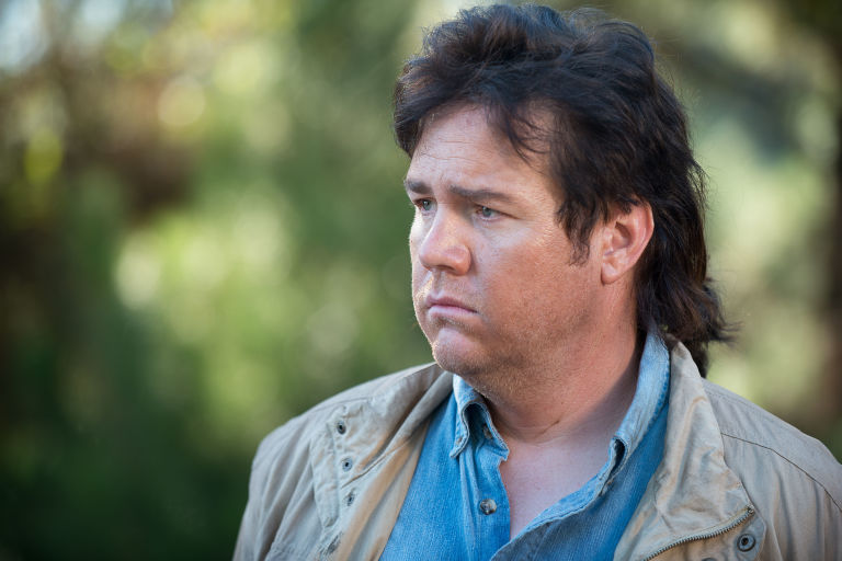 Eugene in The Walking Dead s06e14 ('Twice as Far')