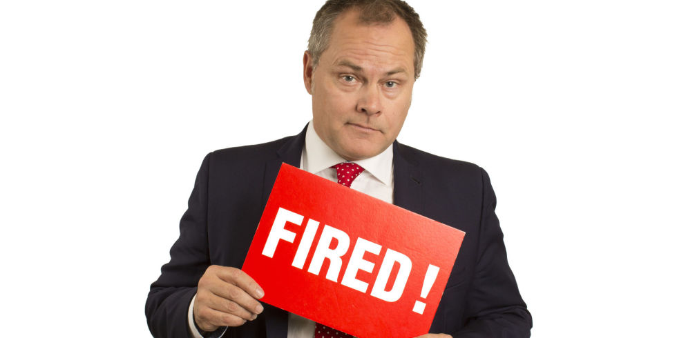 Image result for you're fired