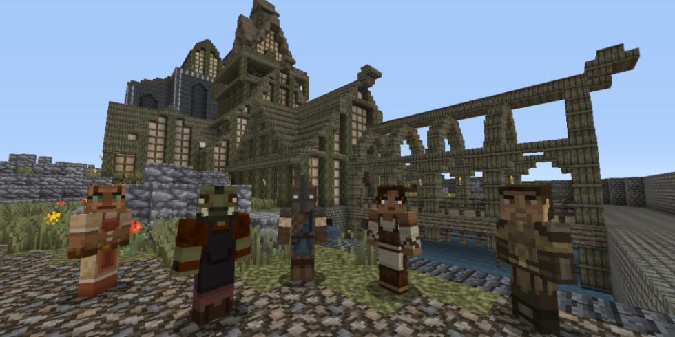 Skyrim Minecraft