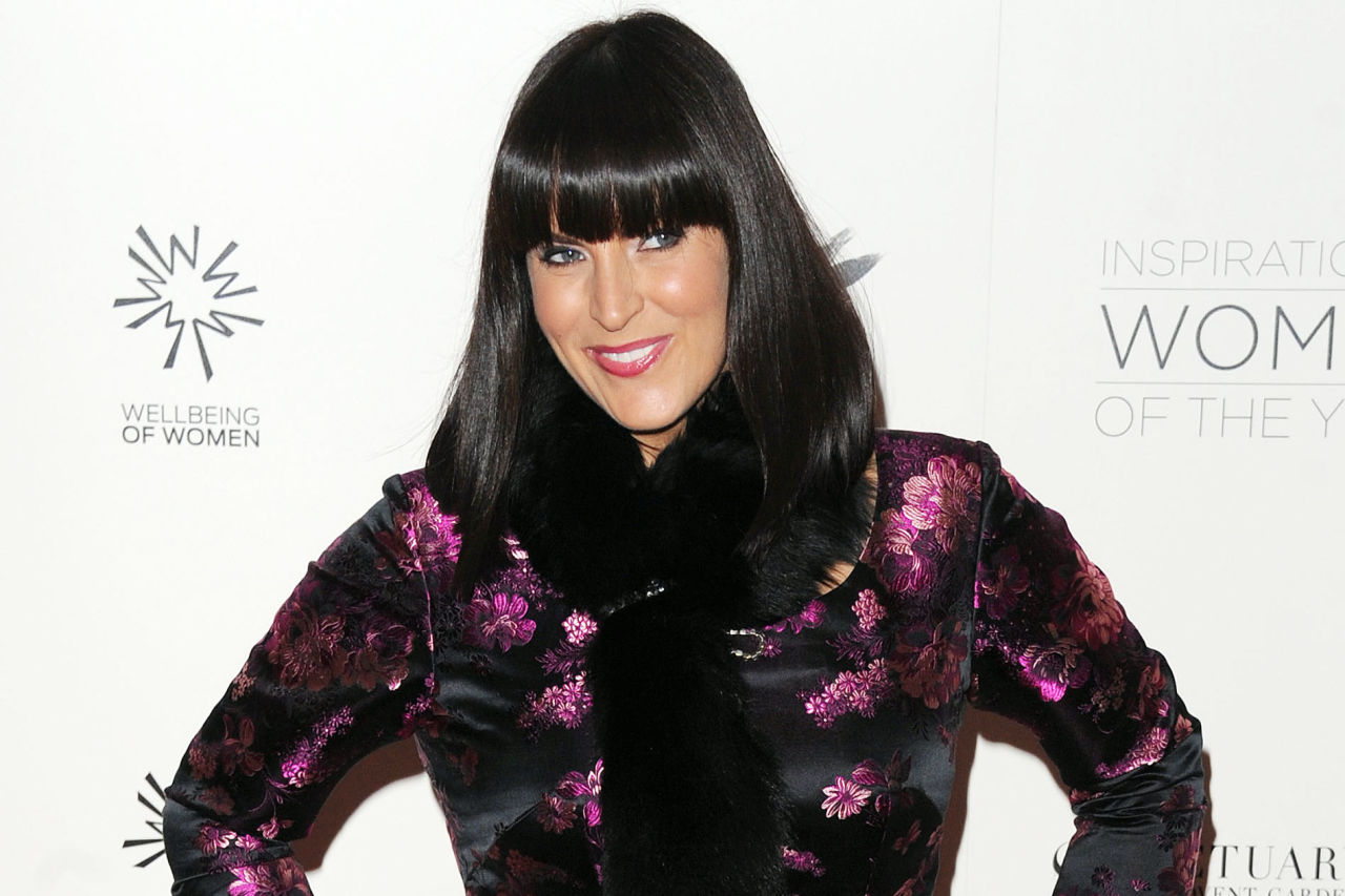 Anna Richardson attends The Daily Mail Inspirational Women of the Year Awards