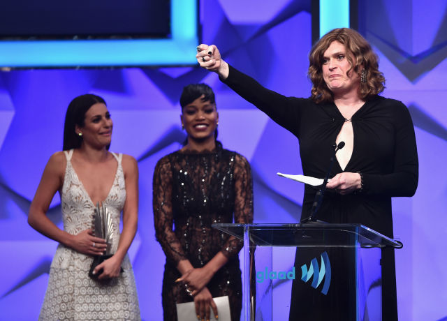Lilly Wachowski at the GLAAD Media Awards