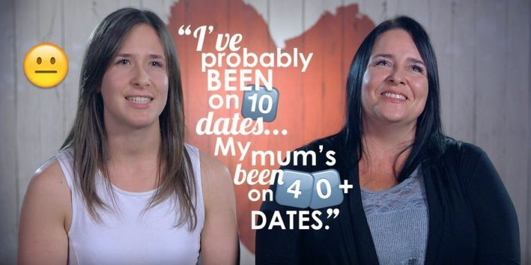 First Dates mother and daughter double date