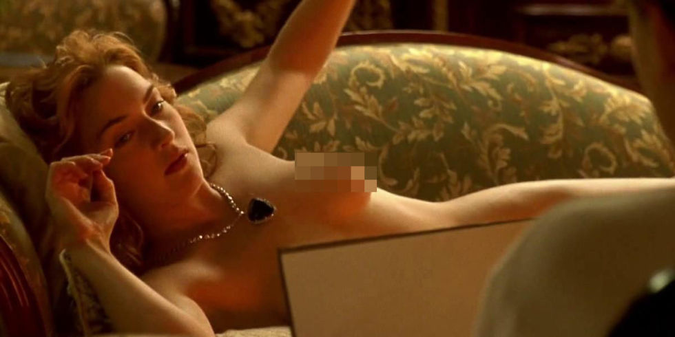 Kate winslet nude on titanic