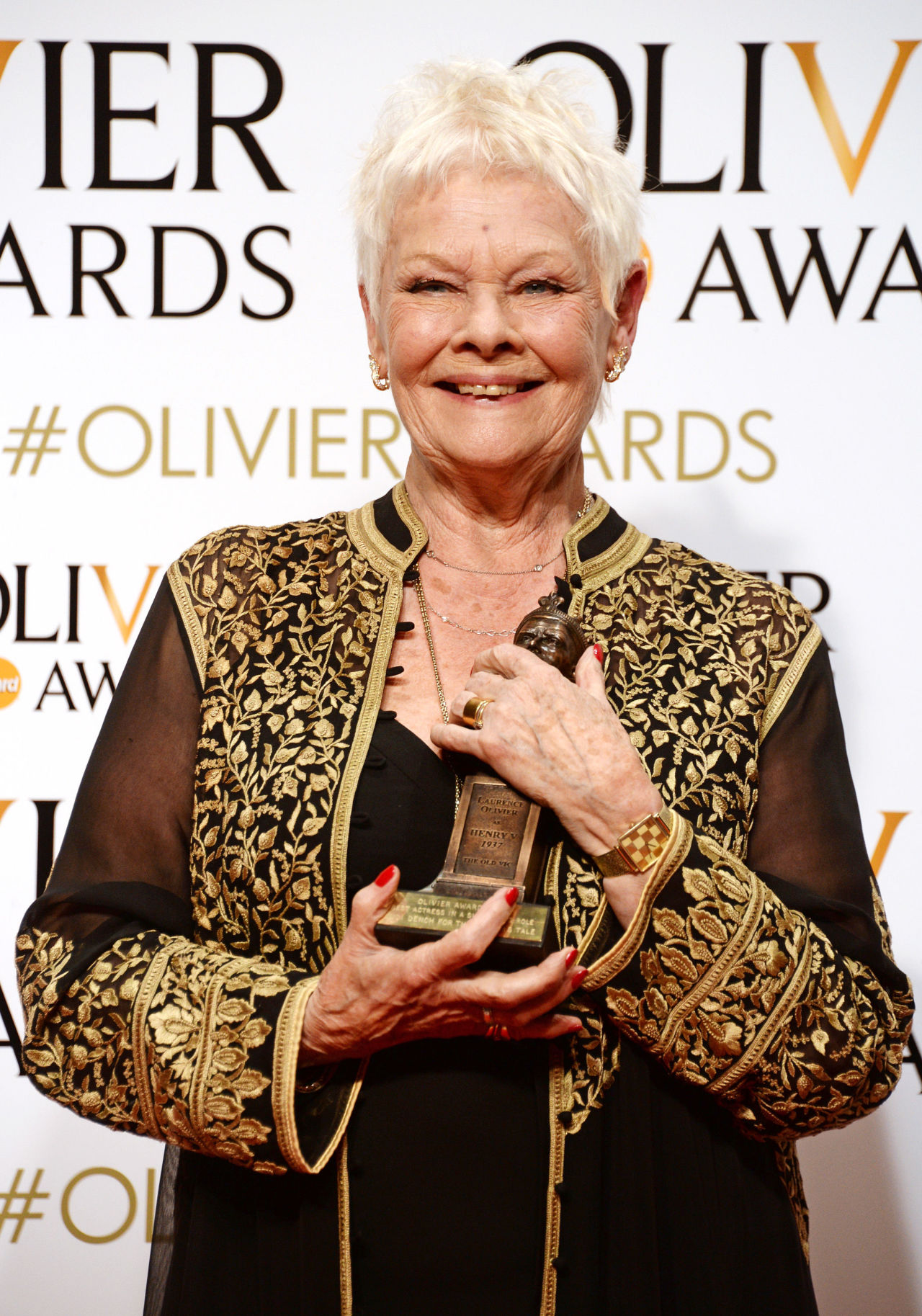 Dame Judi Dench wins 8th Olivier Award