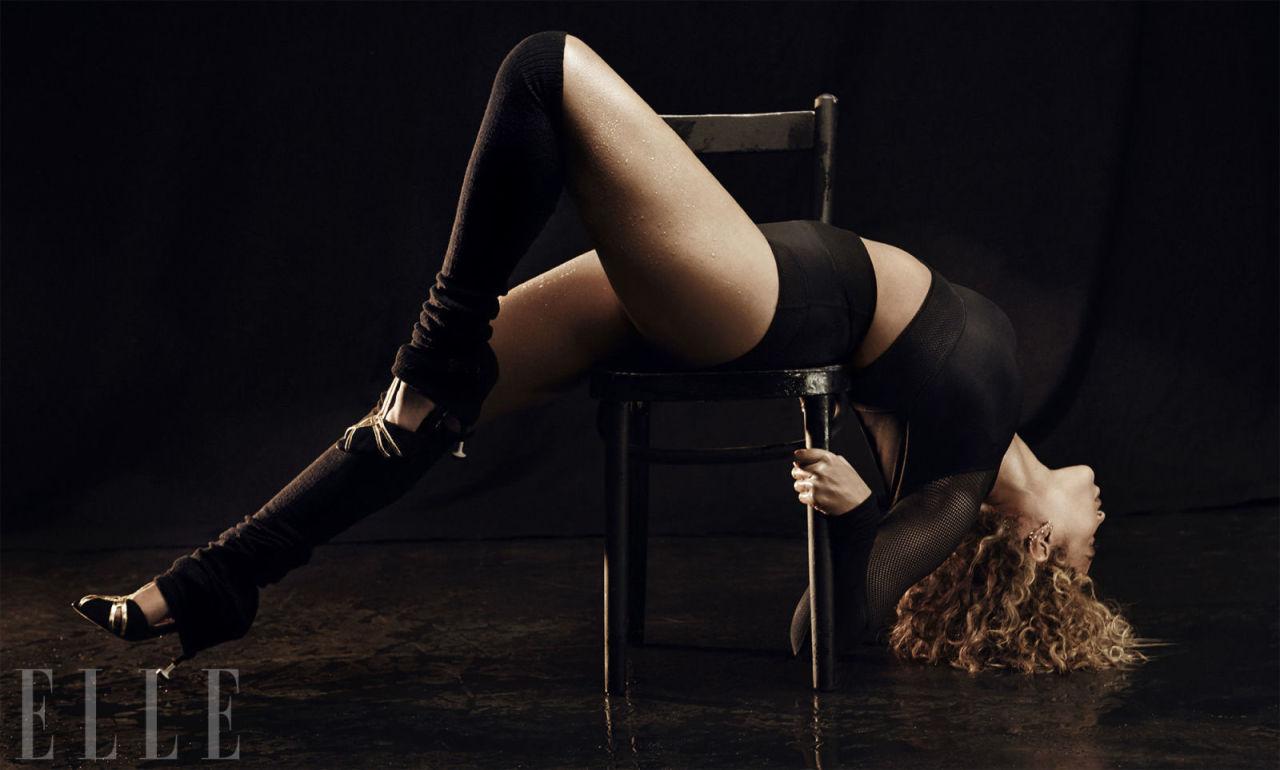Beyoncé Elle shoot