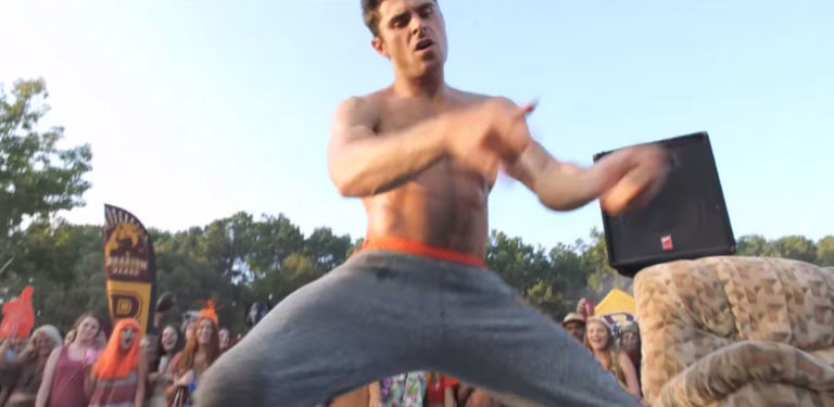efron gay dance Zac